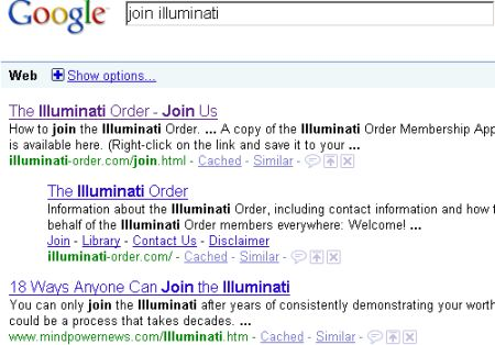 how to join the illuminati