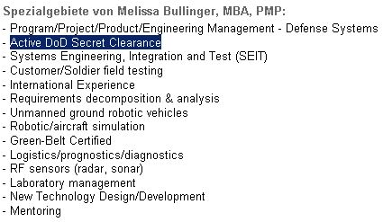 is it ok to publicize secret security clearance top