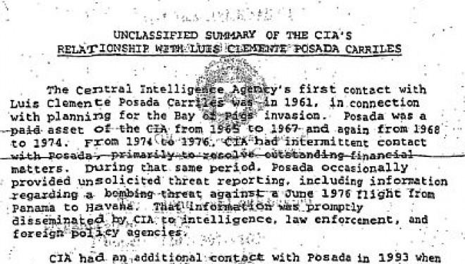 Ex CIA Operative And Terrorist Posada Carriles In Court
