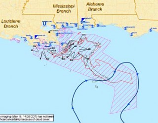 Four Best BP Oil Spill Maps To See How It Spread