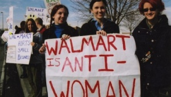 WalMart Employees Converge at Headquarters to Demand Respect