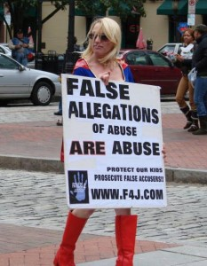 penalties for false allegations