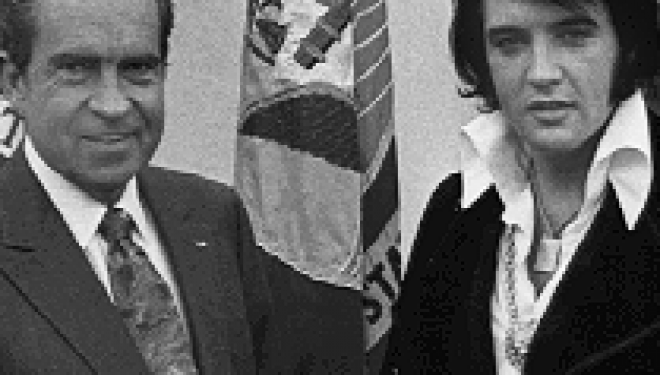 The Day That Richard Nixon Met Elvis Presley