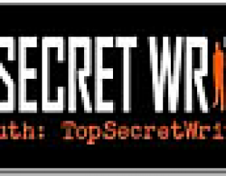 August Giveaway – 5 Top Secret Writers Magnetic Bumper Stickers!