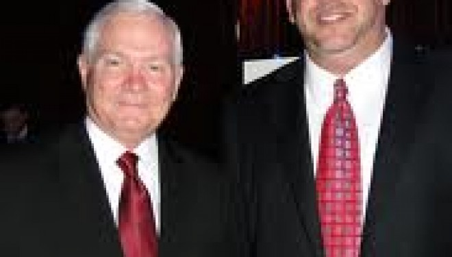 Former Defense Secretary Robert Gates Receives 2011 Liberty Medal