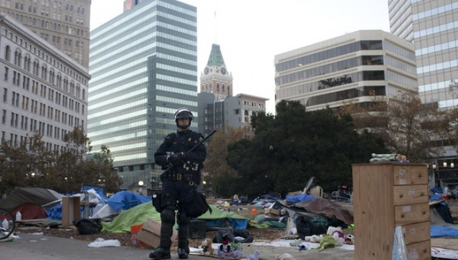 Occupy Movement Turns Dark as Officials Destroy Encampments