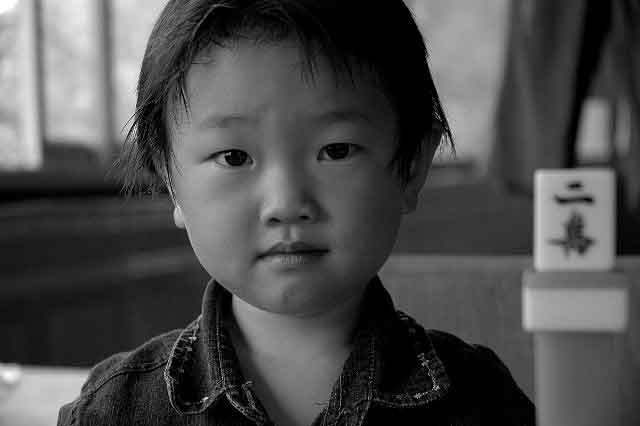 little chinese child