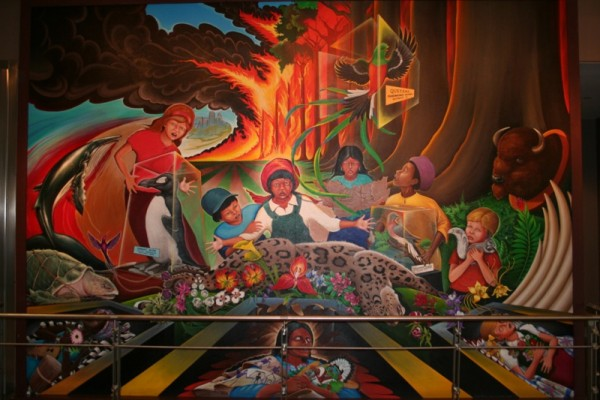 The real story behind the denver airport murals top for Denver international airport mural