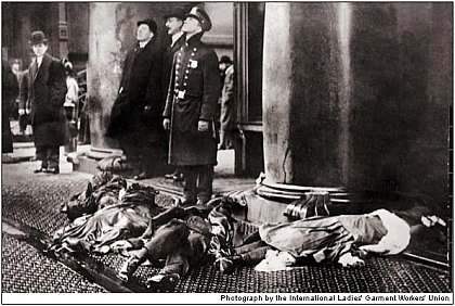 triangle shirtwaist