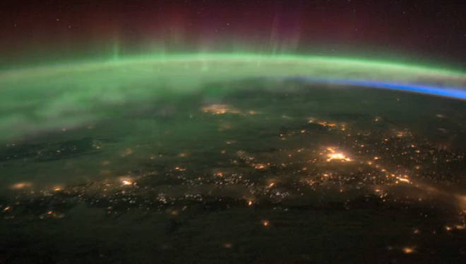 NASA Video Shows Aurora Borealis Glowing Brighter Than Ever