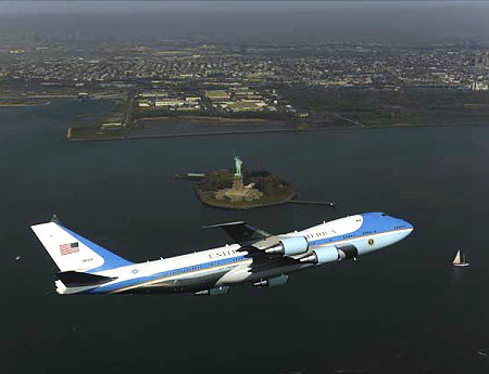 air force one flyover nyc