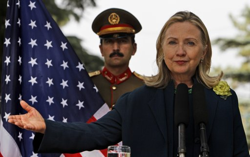 clinton in iraq