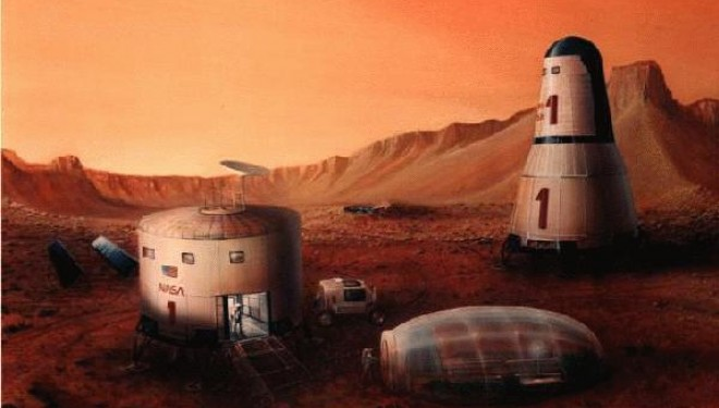 Explore the Mission Mars One Infographic