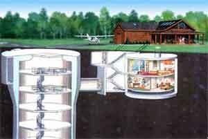 underground bunkers