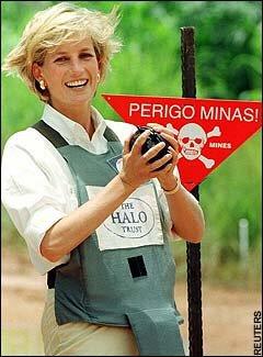 diana land mines