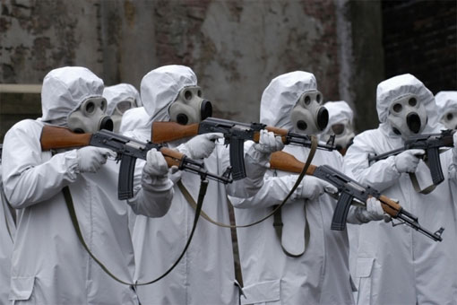 biological weapons testing