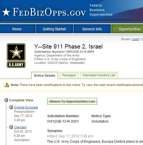 israel site 911