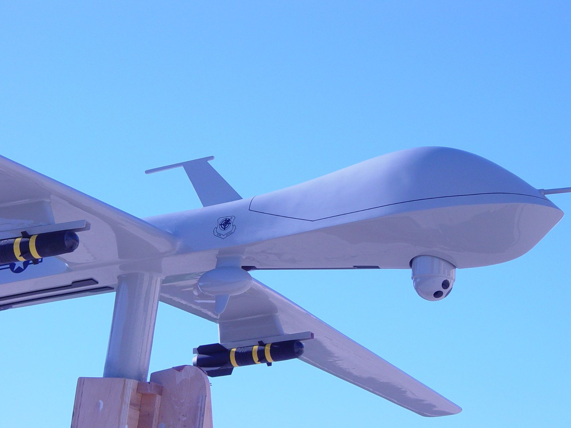 unmanned drone plane
