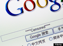 google censored china