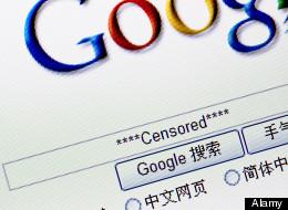 google censored china