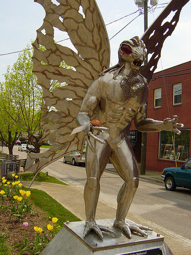 mothman sightings