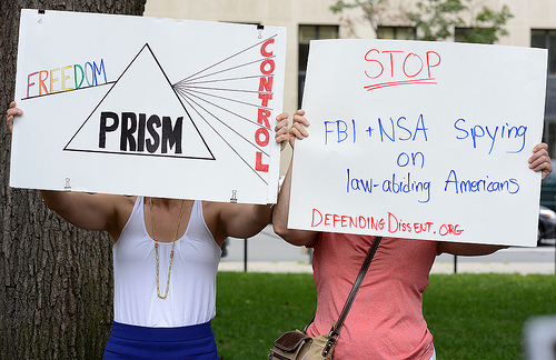 prism protests