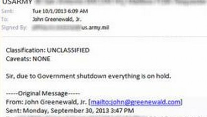 US Government FOIA Requests On Hold During Government Shutdown