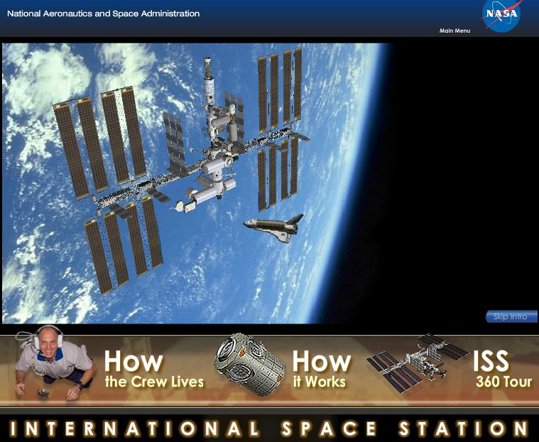 explore the iss