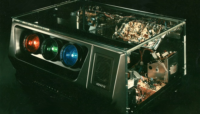 television projector