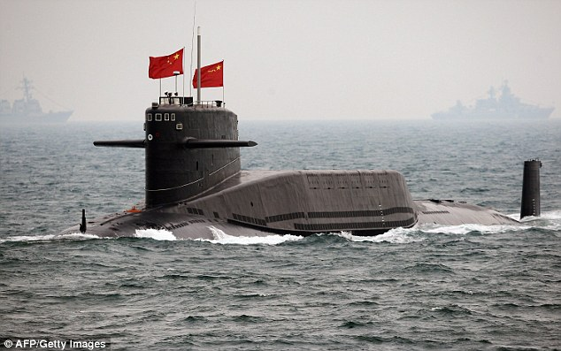 china nuclear submarines