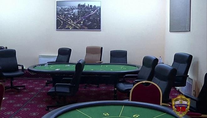 underground poker room