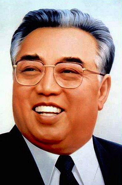 kim il sung portrait
