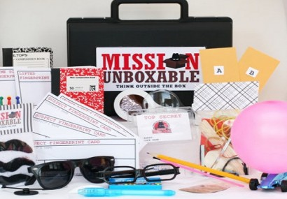 Mission Unboxable Inspires the Imaginations of Young Spies