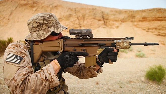 why the military loves fn scar for special activities top secret