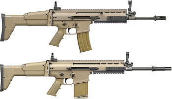 scar-l and scar-h rifles