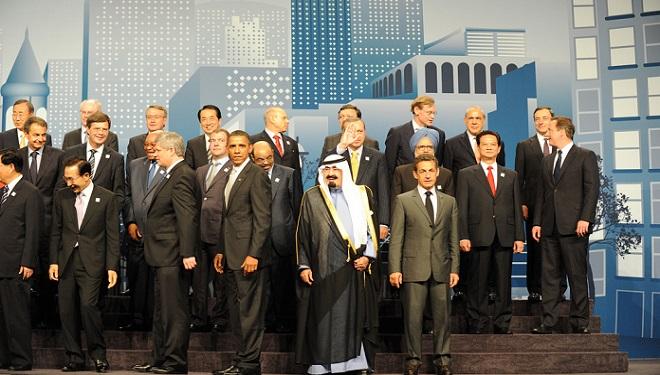 world leaders at g20 summit toronto