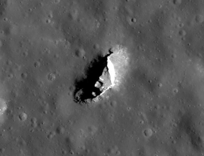 mystery moon crater