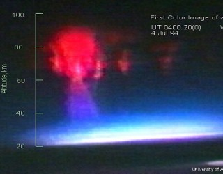 Red UFO Sprites – USAF and UAF Atmospheric Scientists Look for Cause