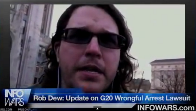 Robert Dew Settlement Proves Police Still Can't Wrongfully Arrest Journalists