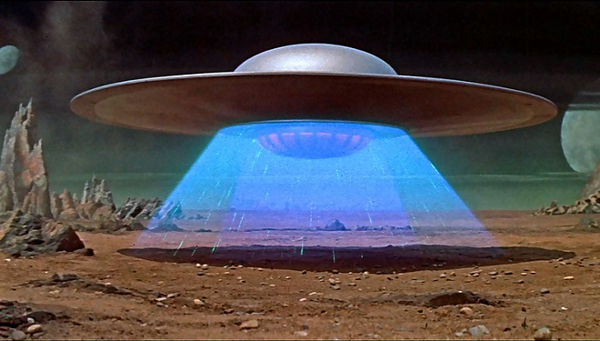 ufo rendering