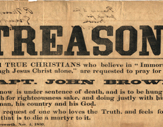 Was Anti-Slave Vigilante John Brown a Terrorist or a True Hero?