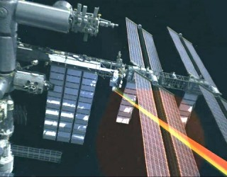 "NASA Beams ""Hello World"" From Space Station With a Laser"