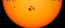 Gigantic Sunspot On Sun Larger Than Carrington Event Solar Flare