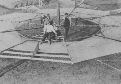 The Umbrella Plane: World's First Disc Shaped Craft?