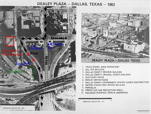 dealey plaza aerial