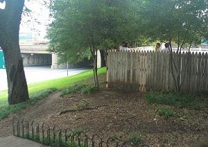 grassy knoll fence