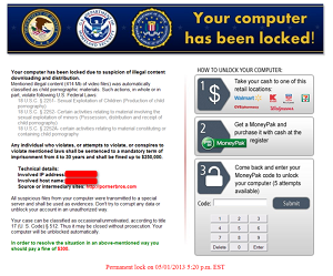 hacked by ransomware