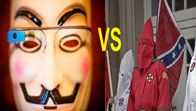 The War Between the KKK and Anonymous