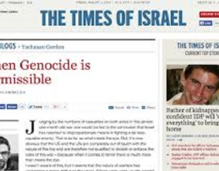 Israeli Genocide Article Proves Power Corrupts Anyone