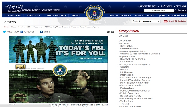 Want to be a G-Man? FBI Seeking Techies to Become Cyber Special Agents